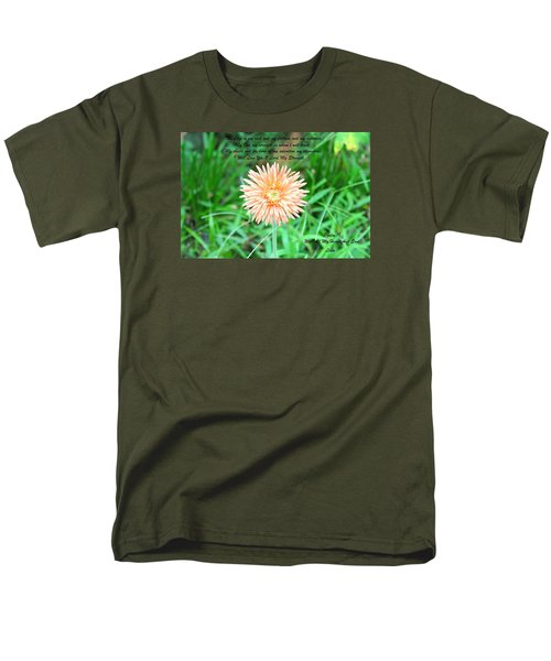 Men's T-Shirt  (Regular Fit) featuring the photograph Alone And Standing by Lorna Maza