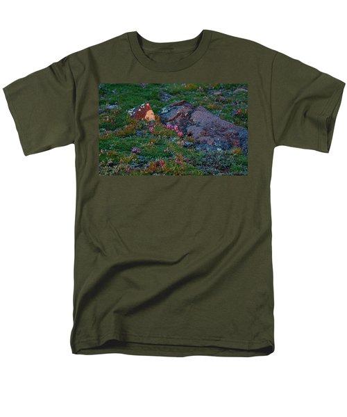 Men's T-Shirt  (Regular Fit) featuring the photograph Alpine Blush by Jim Garrison
