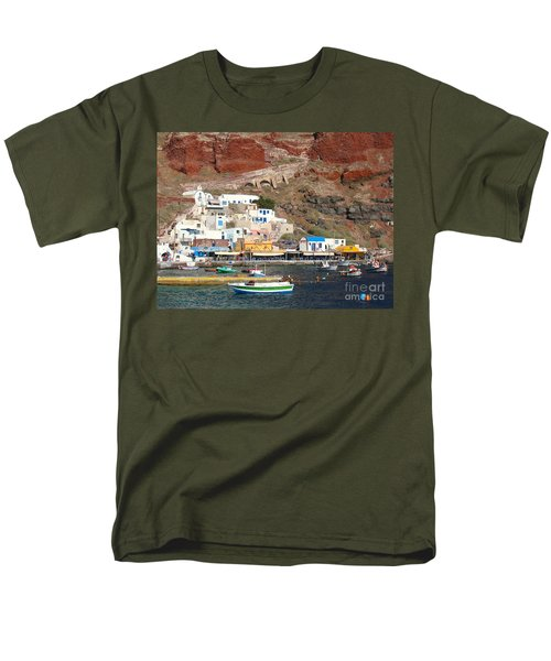 Amoudi Bay Men's T-Shirt  (Regular Fit) by Suzanne Oesterling