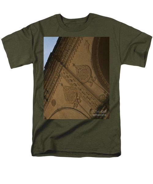 Men's T-Shirt  (Regular Fit) featuring the photograph Ancient Wall by Mini Arora