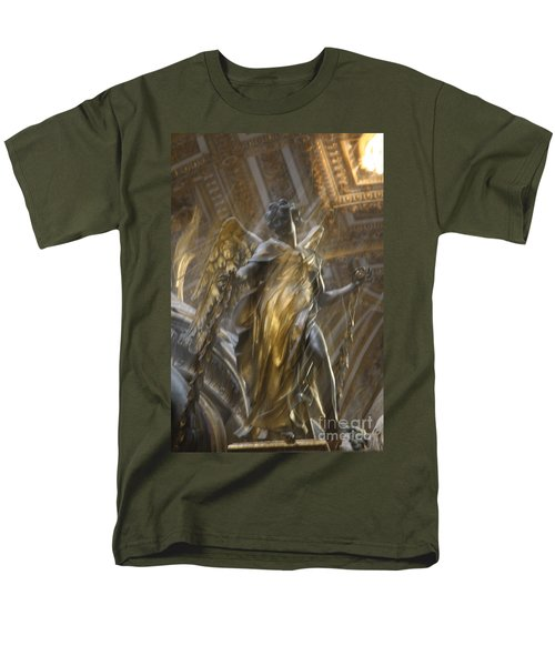 Angel In Motion Men's T-Shirt  (Regular Fit) by Mary-Lee Sanders