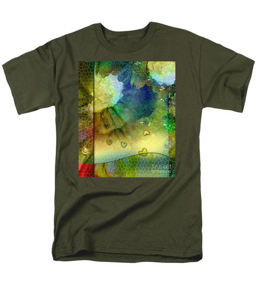 Men's T-Shirt  (Regular Fit) featuring the painting Angiospermae by Allison Ashton