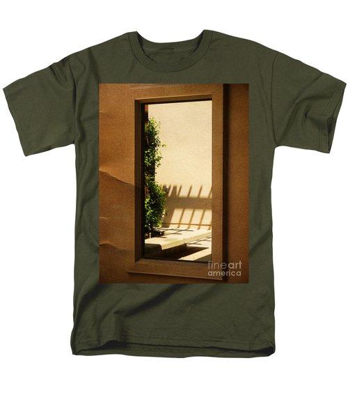 Angled Reflections2 Men's T-Shirt  (Regular Fit) by Meghan at FireBonnet Art