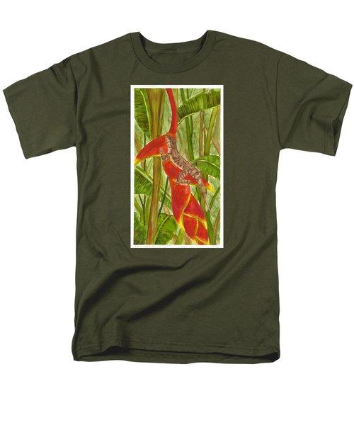 Anolis Humilis Men's T-Shirt  (Regular Fit) by Cindy Hitchcock