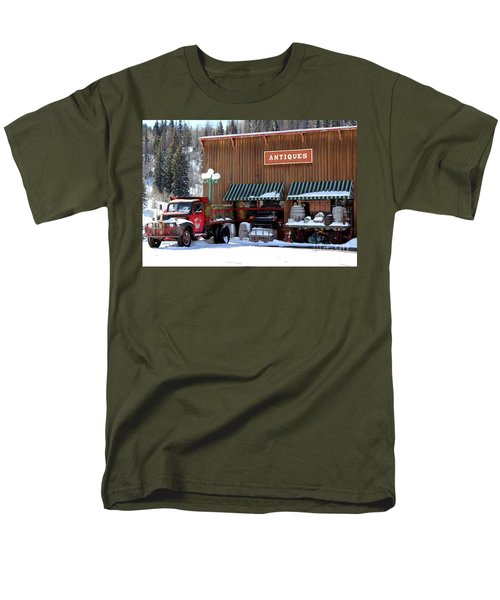 Antiques In The Mountains Men's T-Shirt  (Regular Fit) by Fiona Kennard