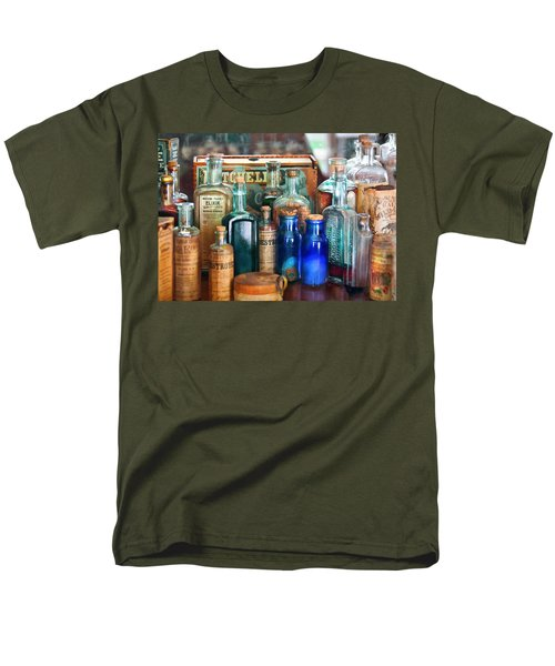 Apothecary - Remedies For The Fits Men's T-Shirt  (Regular Fit) by Mike Savad