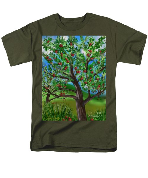 Apple Acres Men's T-Shirt  (Regular Fit)