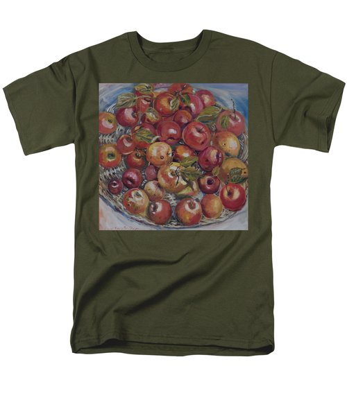 Apples Men's T-Shirt  (Regular Fit) by Alexandra Maria Ethlyn Cheshire