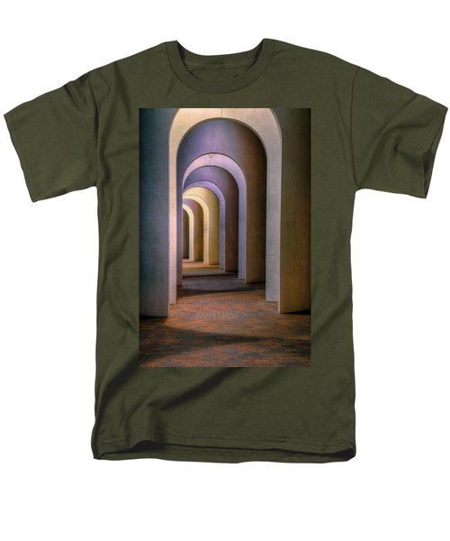 Arches Of The Ferguson Center Men's T-Shirt  (Regular Fit) by Jerry Gammon