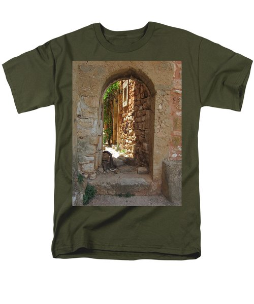 Men's T-Shirt  (Regular Fit) featuring the photograph Archway by Pema Hou