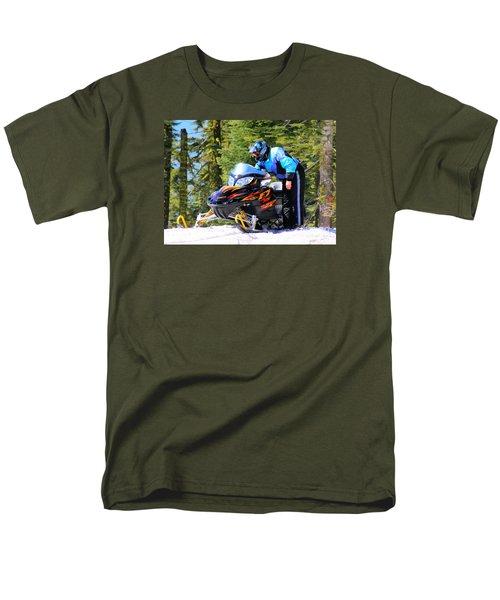 Arctic Cat Snowmobile Men's T-Shirt  (Regular Fit)