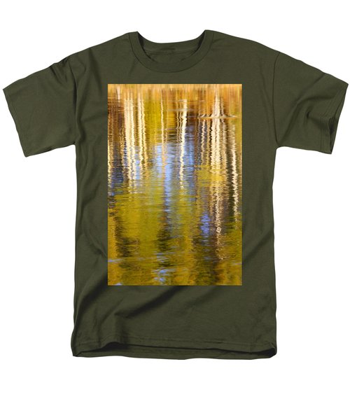 Men's T-Shirt  (Regular Fit) featuring the photograph Aspen Reflection by Kevin Desrosiers