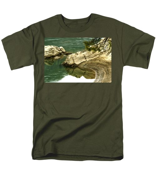 At The Waters Edge Men's T-Shirt  (Regular Fit) by Loni Collins