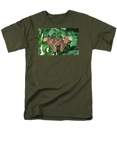 Men's T-Shirt  (Regular Fit) featuring the photograph Atlas Moth #2 by Judy Whitton
