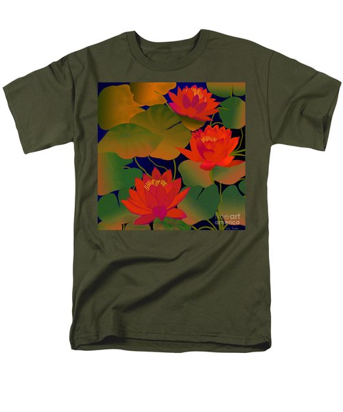 Aura Men's T-Shirt  (Regular Fit) by Latha Gokuldas Panicker