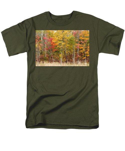Autumn In Muskoka Men's T-Shirt  (Regular Fit) by Les Palenik