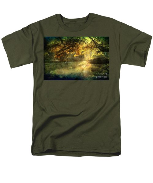 Autumn Light Men's T-Shirt  (Regular Fit) by Ellen Cotton
