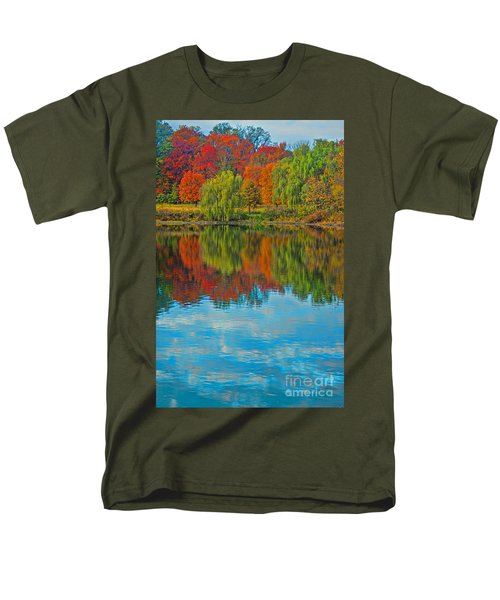 Autumn Reflection Men's T-Shirt  (Regular Fit) by Todd Breitling