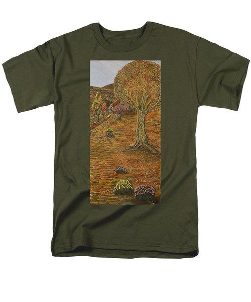 Autumn Sequence Men's T-Shirt  (Regular Fit) by Felicia Tica