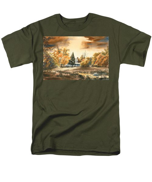 Autumn Sky No W103 Men's T-Shirt  (Regular Fit) by Kip DeVore