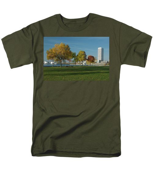 Men's T-Shirt  (Regular Fit) featuring the photograph Autumn Trees by Jonah  Anderson