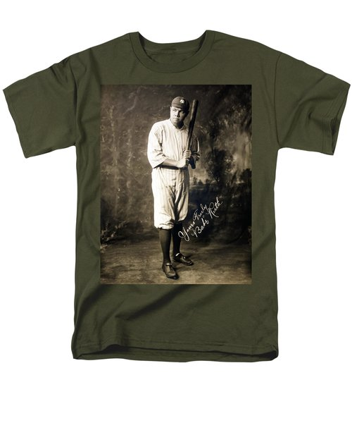 Babe Ruth 1920 Men's T-Shirt  (Regular Fit) by Mountain Dreams