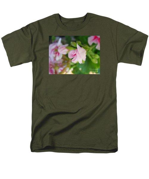 Men's T-Shirt  (Regular Fit) featuring the photograph Baby Geranium by Ramona Matei