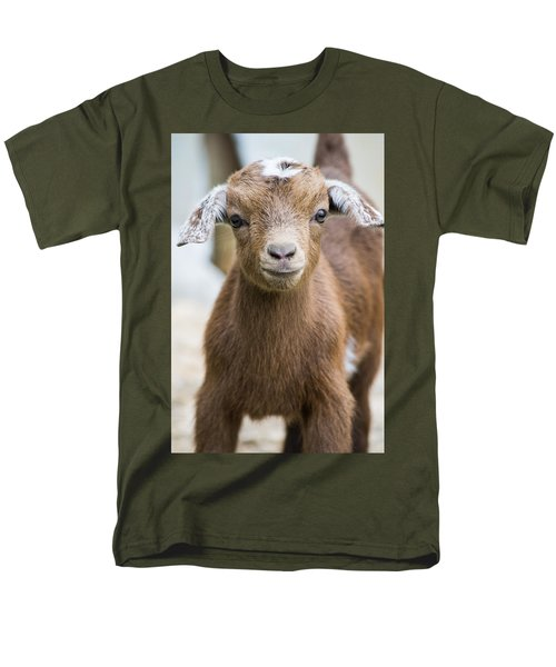 Baby Goat Men's T-Shirt  (Regular Fit) by Shelby  Young