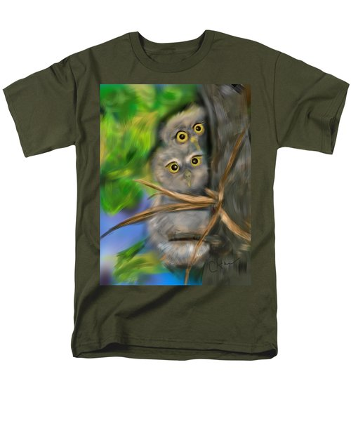 Baby Owls Men's T-Shirt  (Regular Fit)