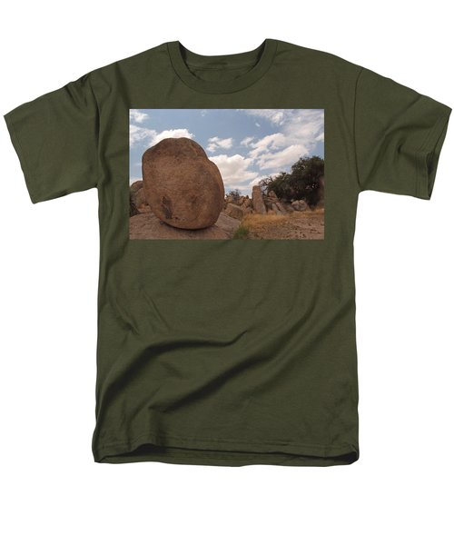 Balanced Rock Men's T-Shirt  (Regular Fit) by Michael McGowan