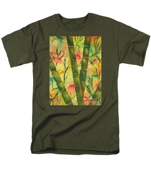 Bamboo Garden Men's T-Shirt  (Regular Fit) by Chrisann Ellis
