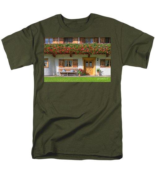 Men's T-Shirt  (Regular Fit) featuring the photograph Bavarianstyle by Juergen Klust