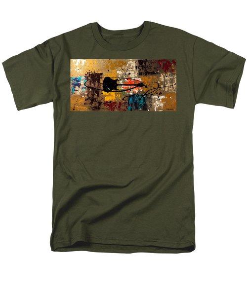 Be A Rock Star Men's T-Shirt  (Regular Fit) by Carmen Guedez