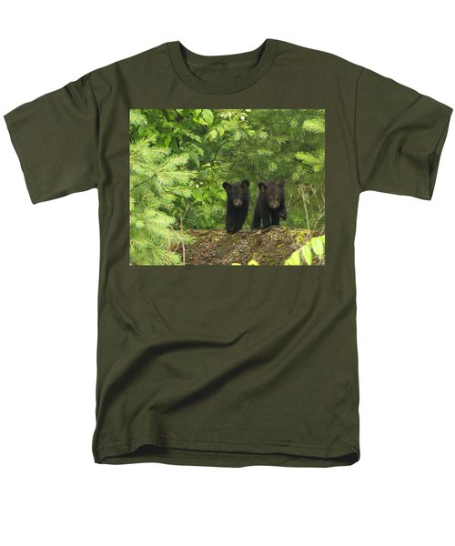 Men's T-Shirt  (Regular Fit) featuring the photograph Bear Buddies by Coby Cooper