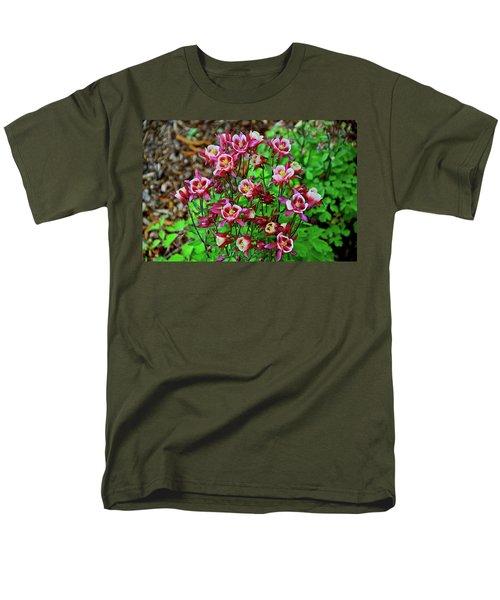 Beautiful Columbine   Men's T-Shirt  (Regular Fit) by Ed  Riche