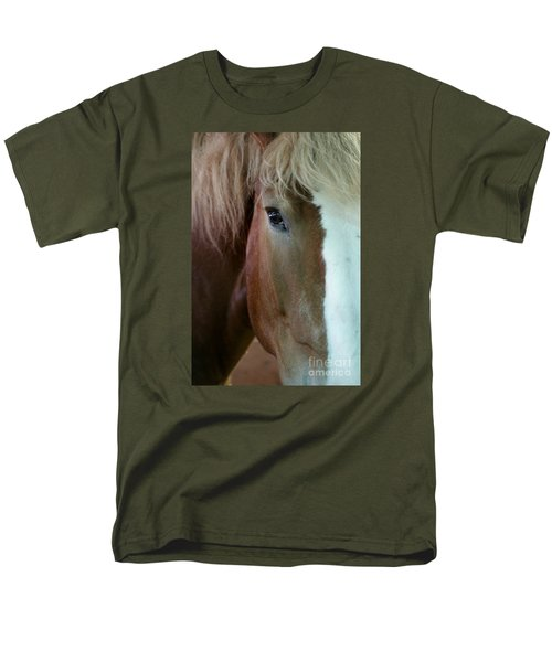 Men's T-Shirt  (Regular Fit) featuring the photograph Beautiful Within Him Was The Spirit - 2 by Linda Shafer