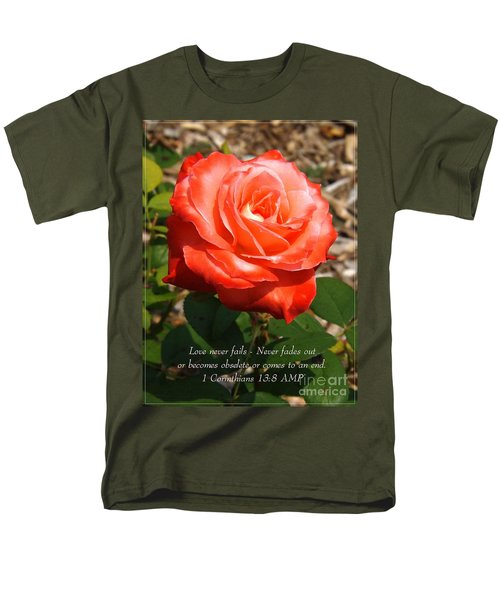 Beauty At Its Best Men's T-Shirt  (Regular Fit) by Sara  Raber