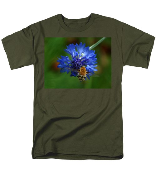 Men's T-Shirt  (Regular Fit) featuring the photograph Bee by Leticia Latocki