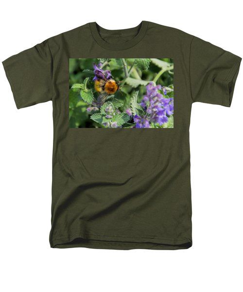 Men's T-Shirt  (Regular Fit) featuring the photograph Bee Too by David Gleeson
