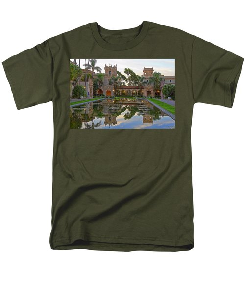 Men's T-Shirt  (Regular Fit) featuring the photograph Before The Crowds by Gary Holmes