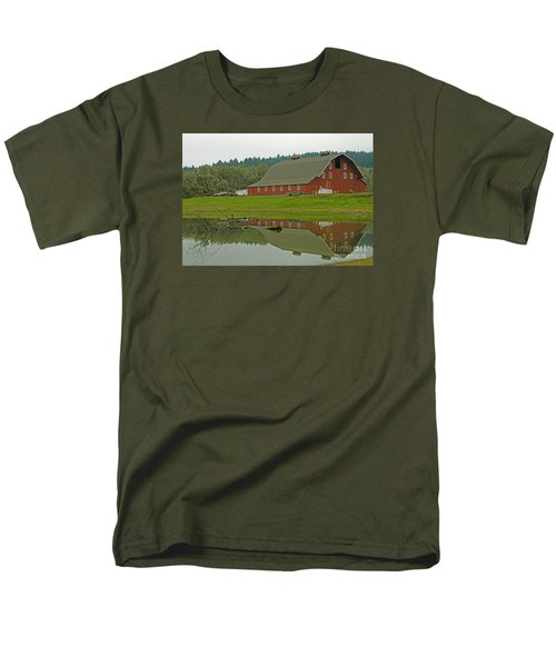 Men's T-Shirt  (Regular Fit) featuring the photograph Big Red by Nick  Boren