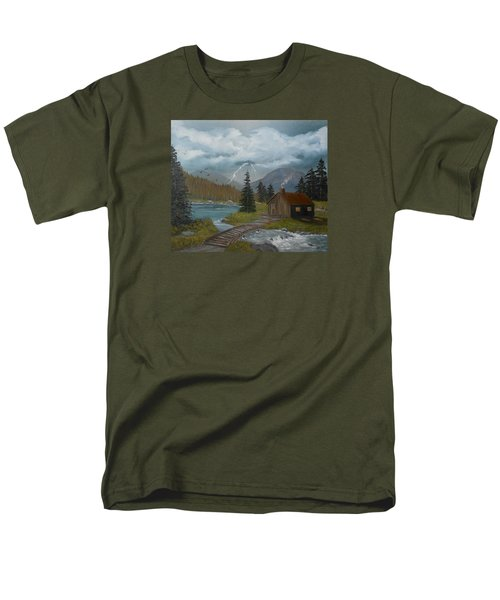 Big Storms A Comin' Men's T-Shirt  (Regular Fit) by Sheri Keith