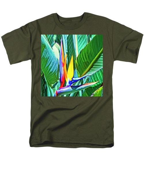 Bird Of Paradise Men's T-Shirt  (Regular Fit) by Dominic Piperata