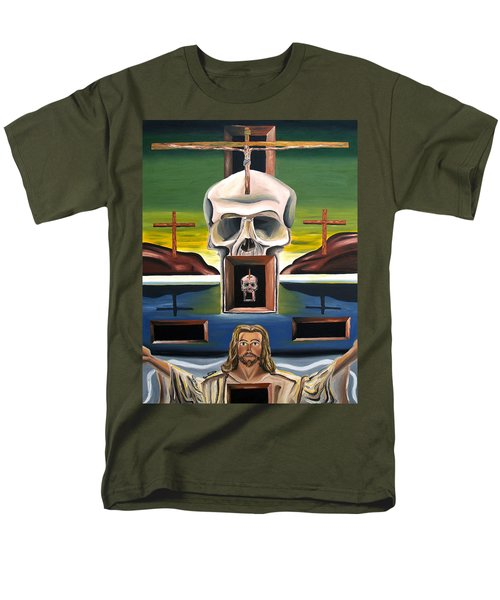 Blasphemixition Men's T-Shirt  (Regular Fit) by Ryan Demaree