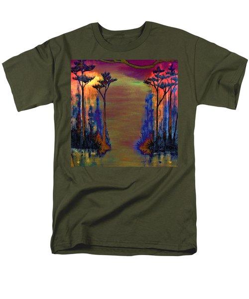 Blood Roots Men's T-Shirt  (Regular Fit) by David Mckinney