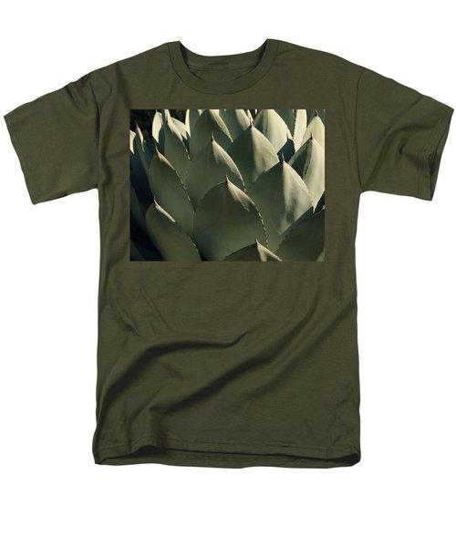Blue Aloe Men's T-Shirt  (Regular Fit)