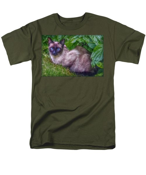 Men's T-Shirt  (Regular Fit) featuring the photograph Blue Eyes by Hanny Heim