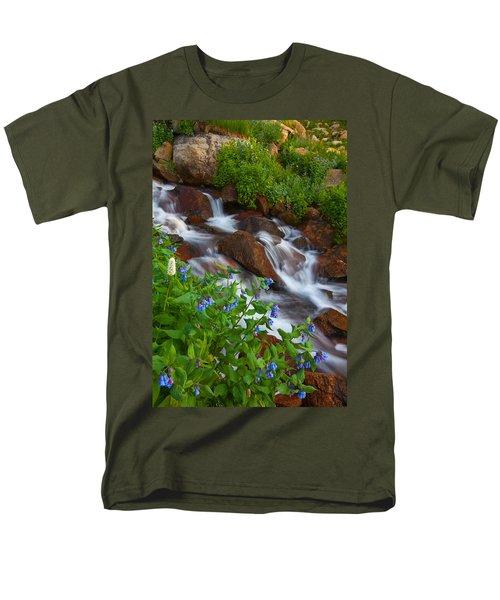 Bluebell Creek Men's T-Shirt  (Regular Fit) by Darren  White