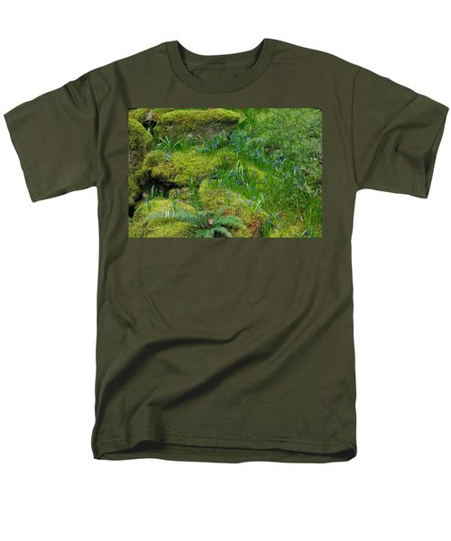 Men's T-Shirt  (Regular Fit) featuring the photograph Bluebells  by Marilyn Wilson