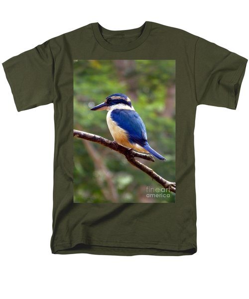 Bluebird In Suva Fiji Men's T-Shirt  (Regular Fit) by Barbie Corbett-Newmin